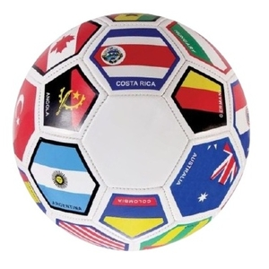 837a11aee Featuring flags of the World Cup countries. Official size & weight (size #5).  Machine-sewn international quality.